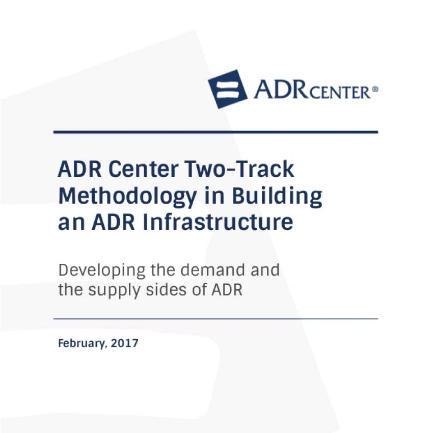 ADR Center International | Two_Track-approch