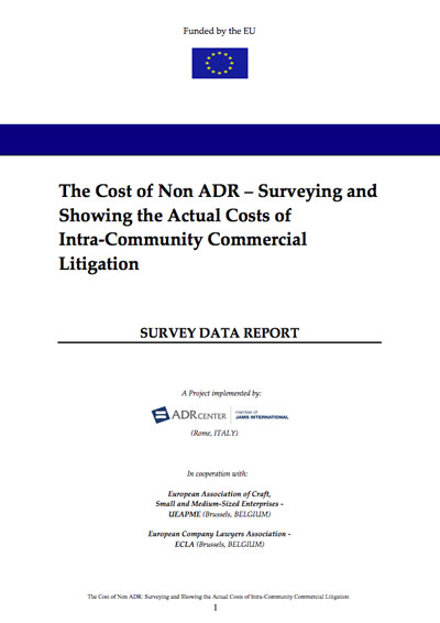 ADR Center for Development | Survey Data Report